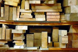 Librairie d'essences de bois